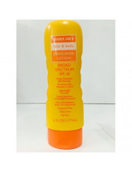 Trader Joe's Face and Body Sunscreen Lotion Broad Spectrum SPF 30, 6 fl oz(177 ml)