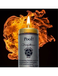 Wicked Witch Mojo - Poof Candle by Dorothy Morrison