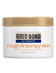Gold Bond Ultimate Rough & Bumpy Skin Daily Therapy Cream 8 oz (226 g) Pack of 6