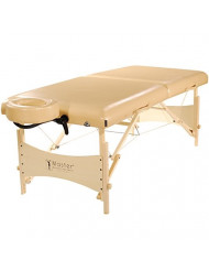 Master Massage Balboa Luster Upholstery Portable Massage Table Package, Cream, 30 Inch