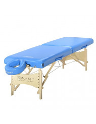 Master Massage Skyline Full Size Portable Massage Table, Royal Blue, 30 Inch