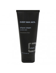 Every Man Jack Shave Cream 6.7oz Fragrance-Free (6 Pack)
