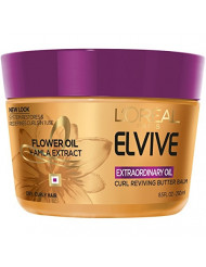 L'Oreal Paris Elvive Extraordinary Oil Curl Reviving Butter Balm, 8.5 fl. oz. (Packaging May Vary)