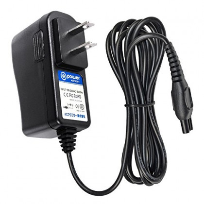 T POWER Ac Dc Adapter Charger Compatible with Philips Norelco Grooming Trimmer Multigroom QG3200 QG3300 Series Sensotouch Speed XL Smarttouch Cool Skin QT4070 QG3380 QG3360 HQ8505 Shaver Power Supply