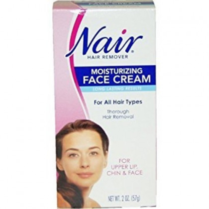Nair Hair Removal Cream For Face With Special Moisturizers 57g by Nair