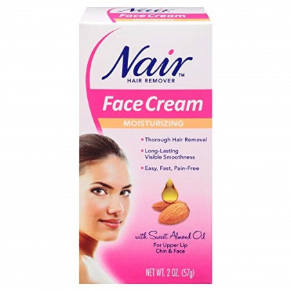 Nair Hair Removal Cream For Face With Special Moisturizers, 2-Ounce Bottles by Nair