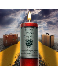 Wicked Witch Mojo Makin Tracks Candle by Dorothy Morrison