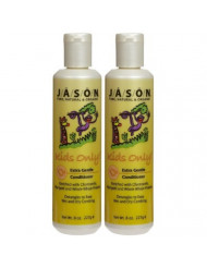 Jason Natural Products Kids Only Extra Gentle Conditioner, 8 Ounce - 6 per case.
