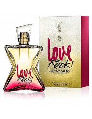 SHAKIRA Love Rock! Perfume Eau De Toilette Spray for Women, 2.7 Fluid Ounce