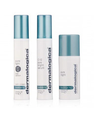 Dermalogica Powerbright TRX Treatment Kit - Set Contains: Face Serum, Sunscreen and Lotion for Uneven Skin Tone
