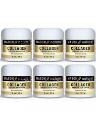 Collagen Beauty Cream Made with 100% Pure Collagen Promotes Tight Skin Enhances Skin Firmness 2 Ounce (Pack of 6)