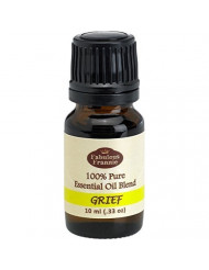Grief Essential Oil Blend 100% Pure, Undiluted Essential Oil Blend Therapeutic Grade - 10 ml A Perfect Blend of Bergamot, Chamomile, Cypress and Marjoram Essential Oils.
