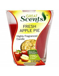 personal care Products 92908-1 3OZ Apple Pie Candle