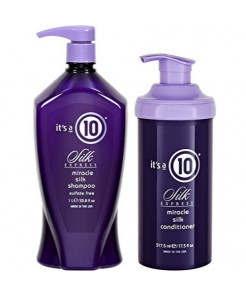 It's a 10 Ten Miracle Silk Express DUO: Shampoo 33.8 Oz & Conditioner 17.5 Oz