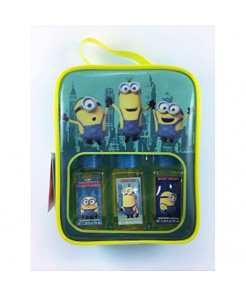 Minions Banana Scented Travel Bath Set