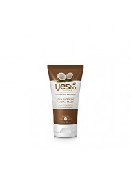 Yes To Coconut Ultra Hydrating Facial Mask, Brown, 2 Fluid Ounce
