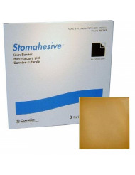 "Stomahesive Skin Barrier 8"" x 8""/Box of 3/Non-Sterile by Convatec"