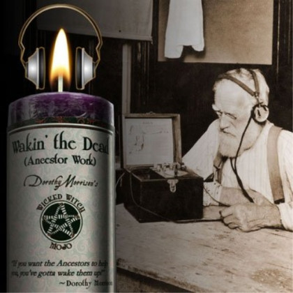 Wicked Witch Mojo Wakin the Dead Candle by Dorothy Morrison