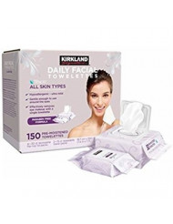 Kirkland Signature Daily Facial Towellettes, 4.53 Pound