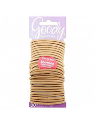 Goody WoMens Ouchless 4 mm Elastics, Blondes, 30 Count