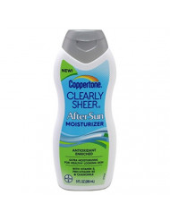 Coppertone Clearly Sheer After Sun Moisturizer 9oz (2 Pack)
