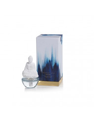 Zodax Mantra Buddha Porcelain, Blue Lotus Fragrance Diffuser Oils, 1 EA