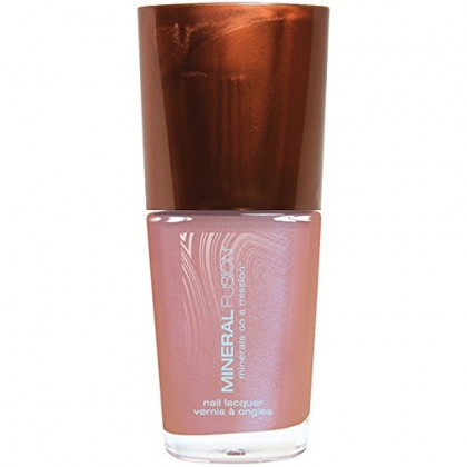 Mineral Fusion Nail Polish, Pink Fire Opal, 0.33 Ounce