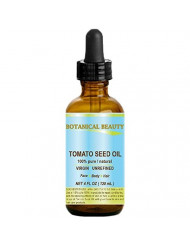 TOMATO SEED OIL. 100% Pure/Natural/Virgin/Undiluted/Cold Pressed for Skin, Hair and Lip Care. 4 oz.- 120ml