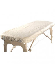 """Therapist's Choice®""""Waterproof"""" Fitted Disposable Massage Table Sheet, 10pcs per Package"""