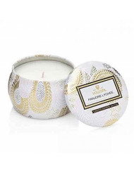 Voluspa Panjore Lychee Petite Tin Candle , 4 Ounces