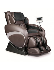 Therapeutic Massage Chair Recliner - High Tech Shiatsu Massager with Body Scan Therapy & Zero Gravity Technology - BROWN