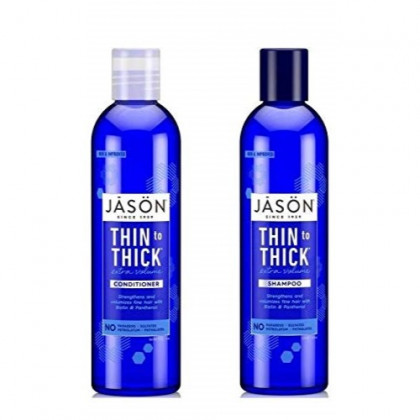 Jason Thin To Thick Extra Volume Shampoo and Conditioner Set by Jason