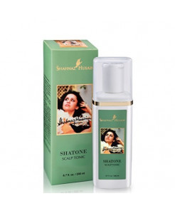 Shahnaz Husain Shatone Herbal Ayurvedic Scalp Tonic Latest International Packaging (6.7 fl. oz. / 200 ml)