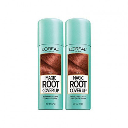L'Oreal Paris Hair Color Root Cover Up Hair Dye Red 2 Ounce (Pack of 2) (Packaging May Vary)