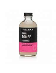 S.W. Basics Toner, Witch Hazel Face Toner for Sensitive Skin and Acne-Prone Skin, Organic and Cruelty Free, 4.0 fl oz