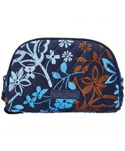 Vera Bradley Luggage Women's Small Zip Cosmetic Java Floral Cosmetic Bag