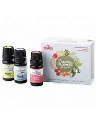 Plant Therapy Precious Flowers Essential Oil Set, 3 Oils (5 mL each) 100% Pure, Undiluted, Therapeutic Grade
