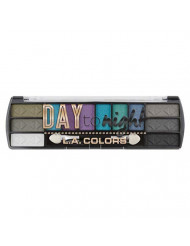 L.A. Colors Day To Night 12 Color Eyeshadow, After Dark, 0.28 Ounce