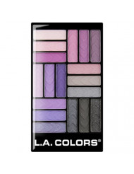 L.A. Colors 18 Color Eyeshadow Palette, Strange Love, 0.70 Ounce