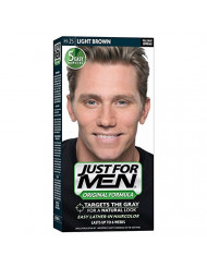 Just For Men Original Formula Men's Hair Color Light Brown H-25 - 1 Application