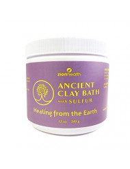 Ancient Clay Sulfur Bath Minerals for Aches, Pains 12 oz.