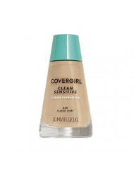 COVERGIRL, Clean Sensitive Skin Foundation, Classic Ivory, 1 Count (packaging may vary)