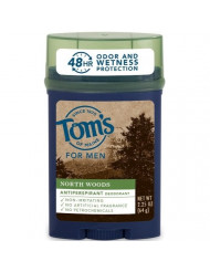 Tom's of Maine North Woods Men's 48-Hour Natural Anti-perspirant Deodorant, 2.25 oz