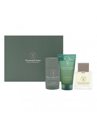 Ermenegildo Zegna Acqua di Bergamotto for men 3 Piece Set Includes: 3.4 oz Eau de Toilette Spray + 2.1 oz Deodorant Stick + 2.5 oz Hair & Body Wash