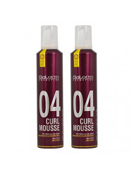 """Salerm Pro-Line Curl Mousse Extra-Strong Hold 10.5oz""""Pack of 2"""""""
