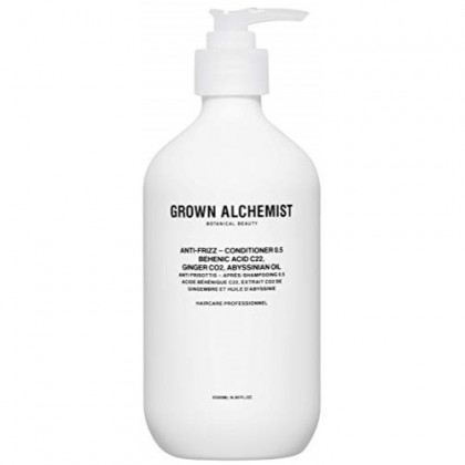 Grown Alchemist Anti-Frizz Conditioner 0.5 - Behenic Acid C22, Ginger CO2 & Abyssinian Oil - Made with Organic Ingredients (500ml / 16.9oz)