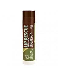 Desert Essence Lip Rescue Therapeutic with Tea Tree Oil - 0.15 Oz - Pack of 3 - Antiseptic Balm - for Cracked Lips, Cold Sores - for Softer, Smoother Lips - Unscented - Vitamin E - Aloe Vera