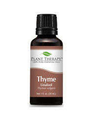 Plant Therapy Thyme Linalool Essential Oil. 100% Pure, Undiluted, Therapeutic Grade. 30 ml (1 oz).