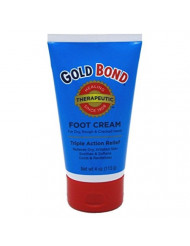Gold Bond Triple Action Relief Foot Cream, 3 Count