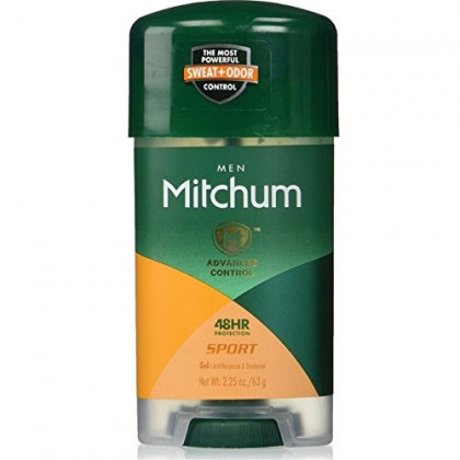 Mitchum Power Gel Anti-Perspirant Deodorant Sport 2.25 oz ( Pack of 10)